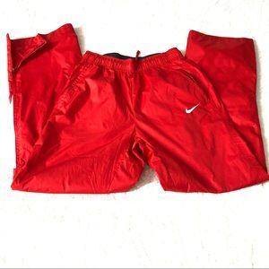 Nike Women's Athletic Red White Pants Size XS NEW